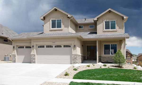 Two-Story Home Plan Colorado Springs