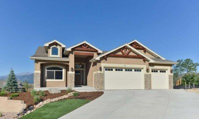 Colorado Springs Semi-Custom Home Builders Floor Plan