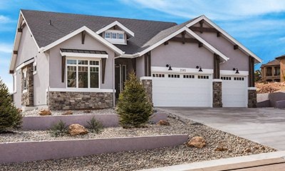 Home Builders' Colorado Springs Ranch Floor Plan
