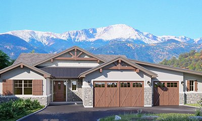 Semi-Custom Ranch Home Plan Colorado Springs
