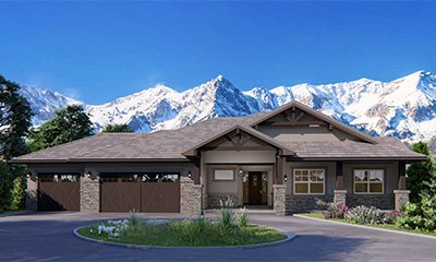 Custom Built Ranch Floor Plan Colorado Springs